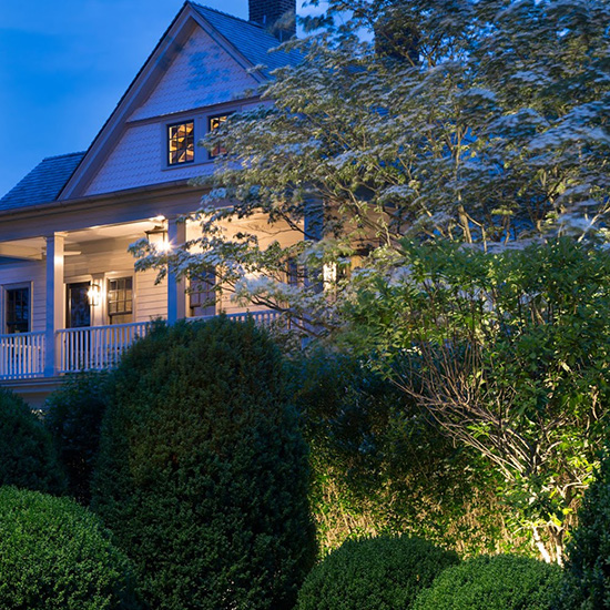 Night view of The Verandas guest house