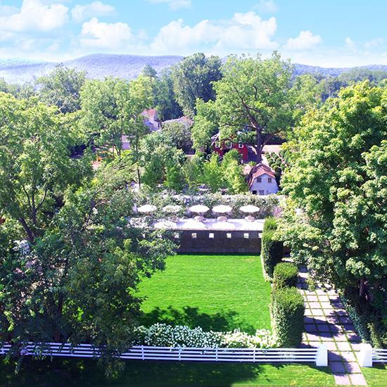 Aerial View of Valley Rock Inn & Mountain Club